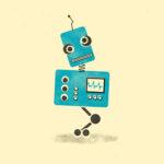 Blue RObot 1